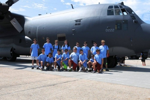 106th Rescue Wing C 130 visit