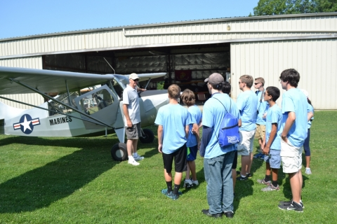 Learning about the Aeronca