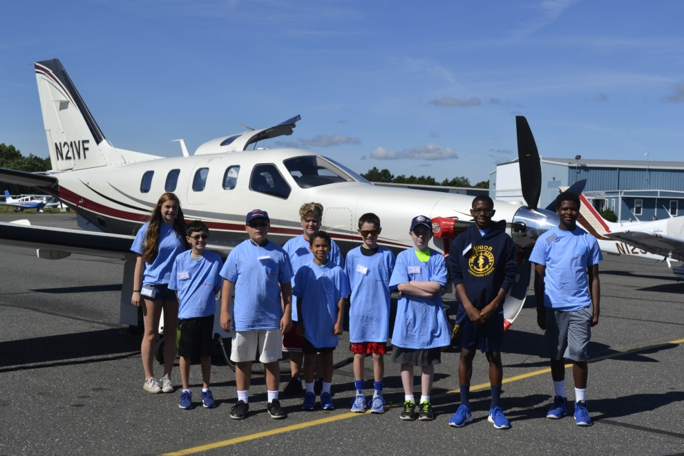 Aerocamp Youths Flying Adventure Mid Island Air Service Inc