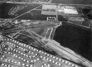 Aerial Vew Deer-Park Airport